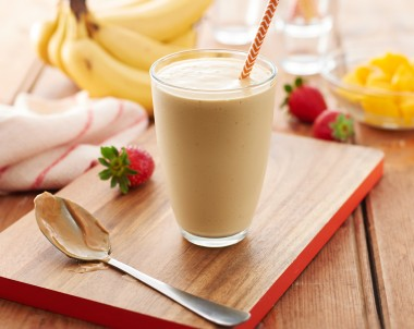 Peanut Butter Breakfast Smoothie