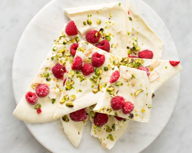 Frozen Yoghurt Bark recipe
