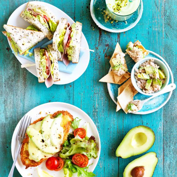 1 avocado 4 ways