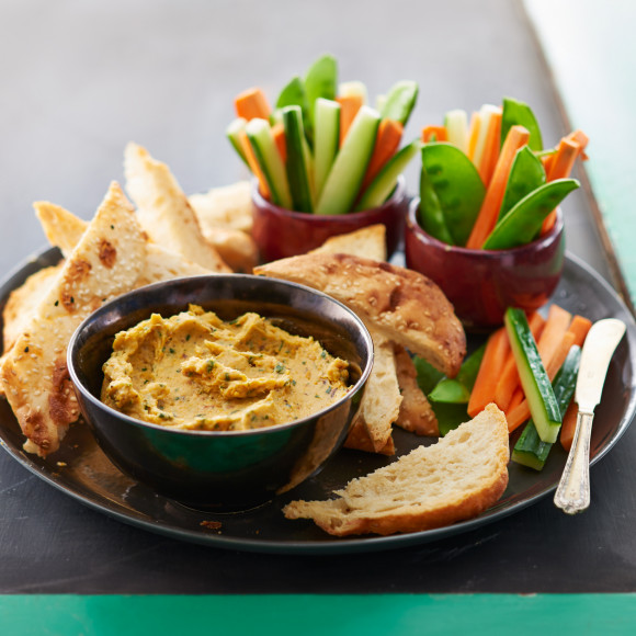 Pumpkin and Almond Dip
