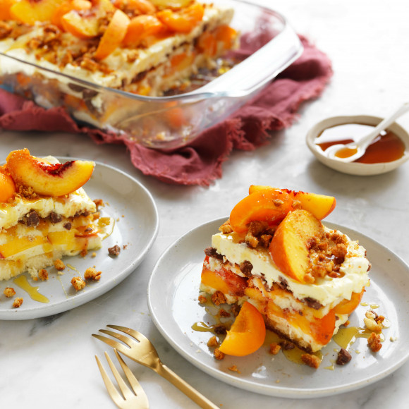 No-bake apricot cheesecake recipe