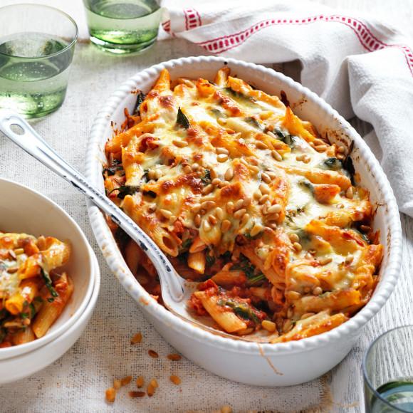 Ardmona Vegetarian Pasta Bake Recipe