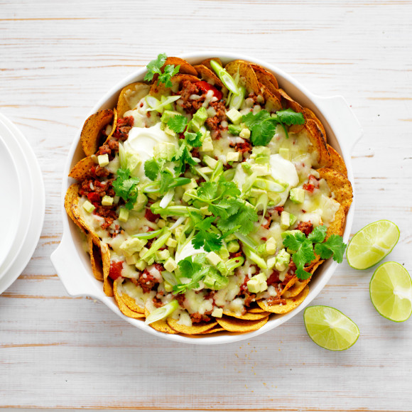 Easy beef nachos recipe myfoodbook easy mexican recipes forumfinder Images