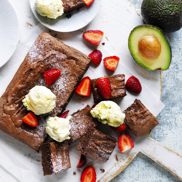 Decadent Avocado Brownie Recipe