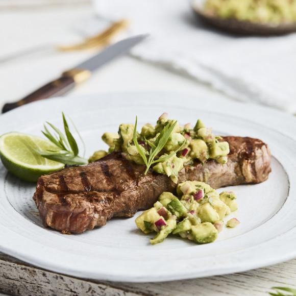 Steak Bearnie Avo-Style