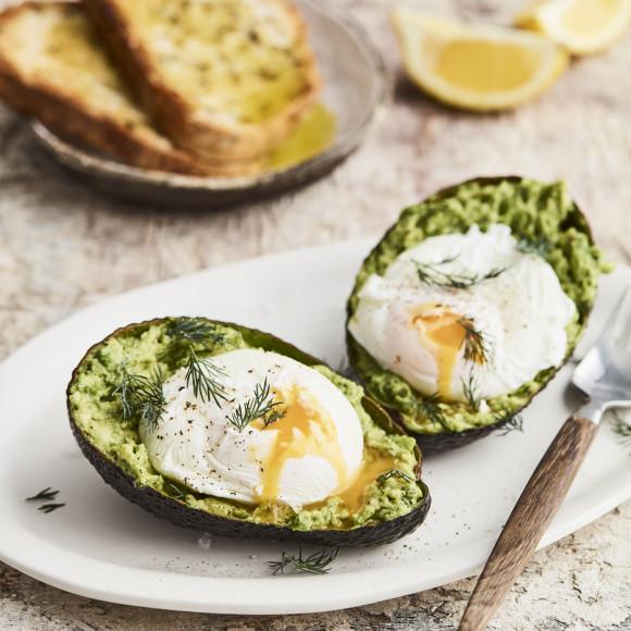 Eggs and Avocado breakfast