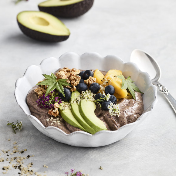 Avocado Acai Breakfast Bowl