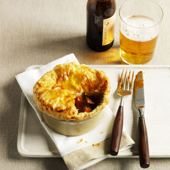 Beef Pot Pie recipe is perfect for weekend cooking.