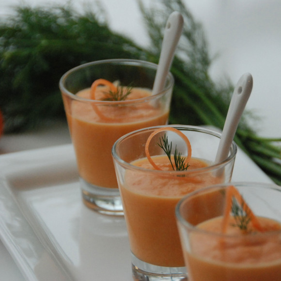 Carrot and Dill Soup Vichy