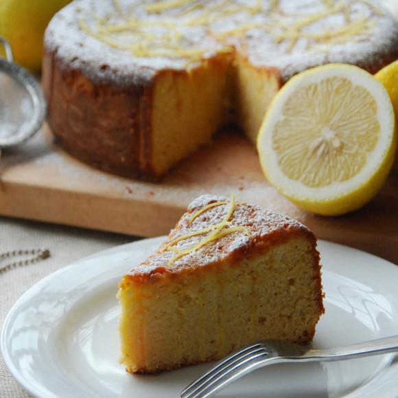 Polenta Lemon Cake