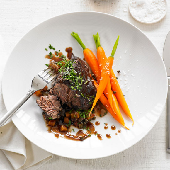 Braised Beef Cheeks in Red Wine Recipe