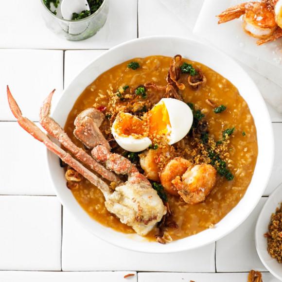 Crab & Prawn Congee