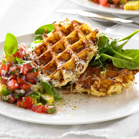 Potato Rosti Waffle recipe