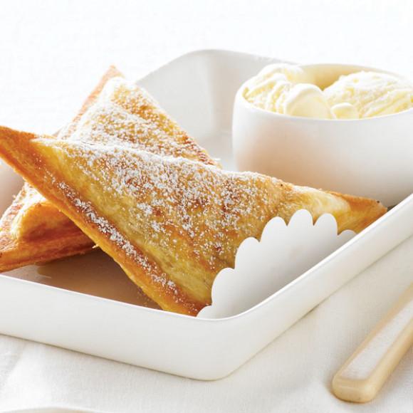 Hot Apple Pie Jaffle recipe idea from Breville