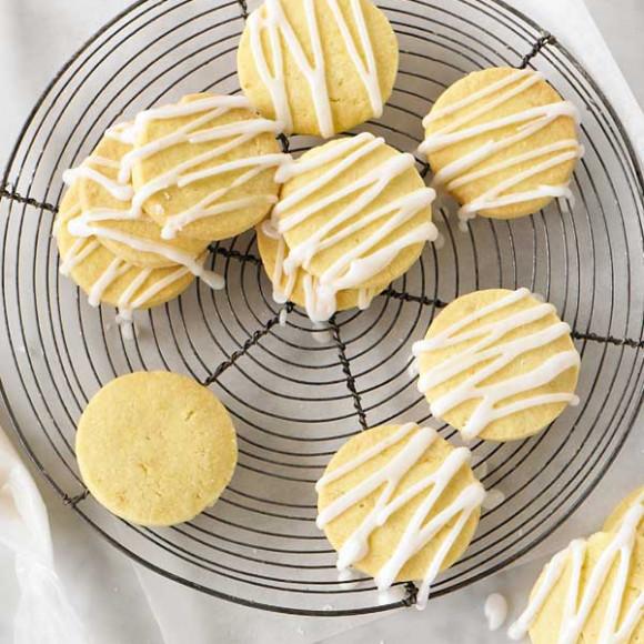 Easy Lemon Shortbread Recipe