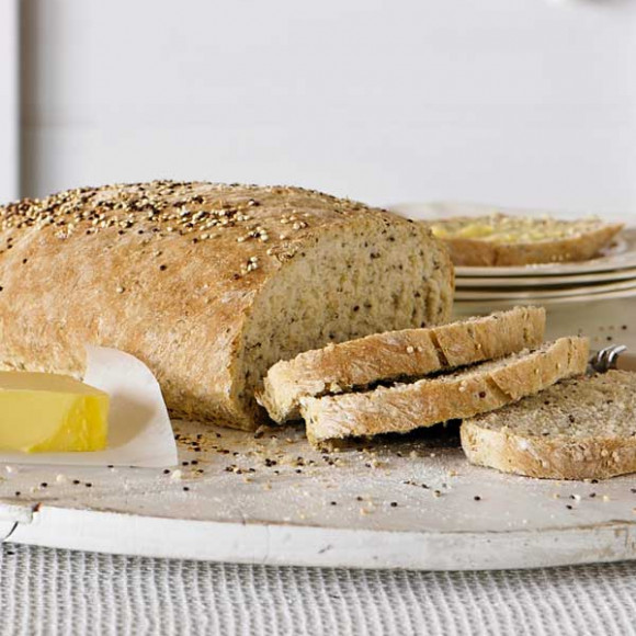 Quinoa Linseed And Chia Bread