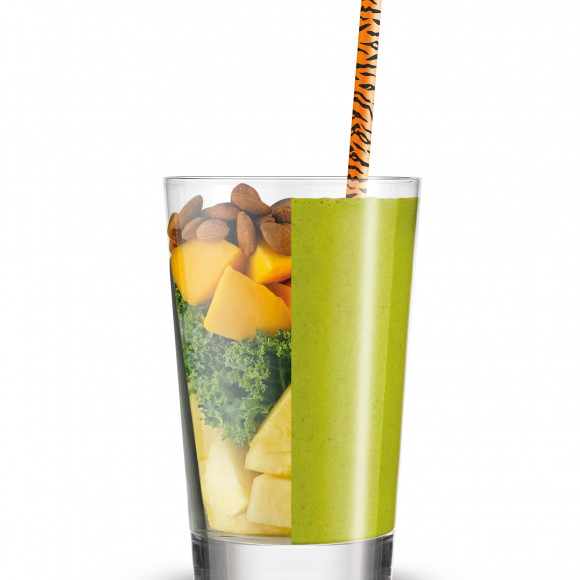 Pina-kale-ada Smoothie - made with the Breville Boss To Go personal blender