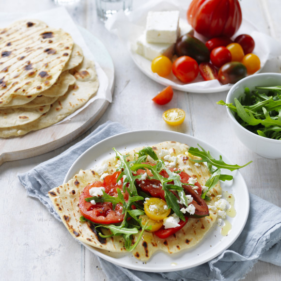 Easy Flat Breads recipe Breville Mixer