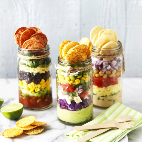 Healthy Nachos recipe in a Jar