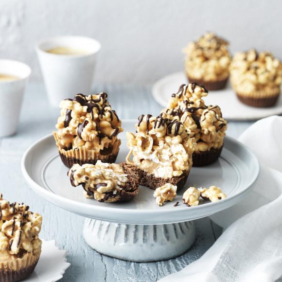 Chocolate Popcorn Cupcakes