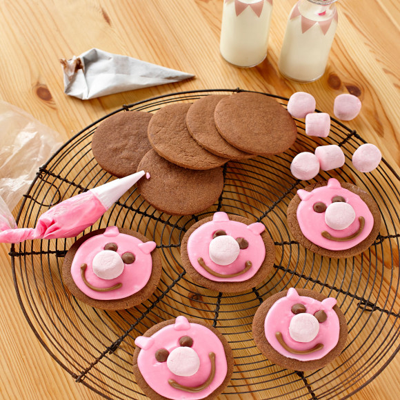 Muddy Little Pig Biscuits