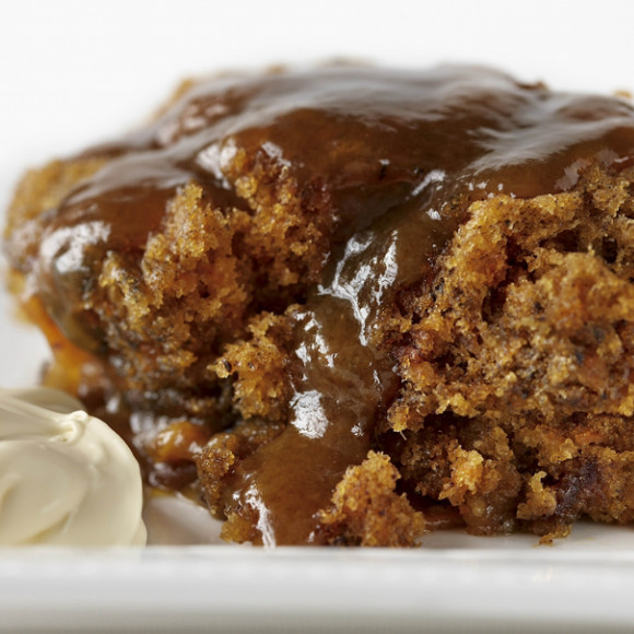 Chocolate sticky date & pecan loaf