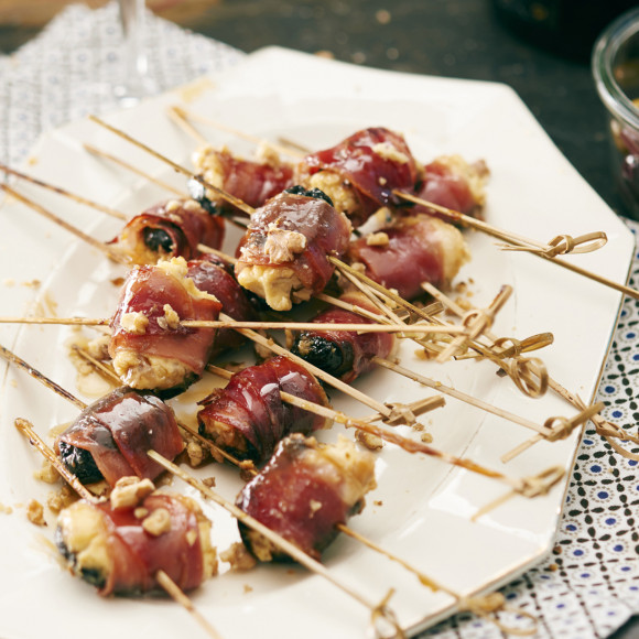 Maple and Walnut Devils On Horseback