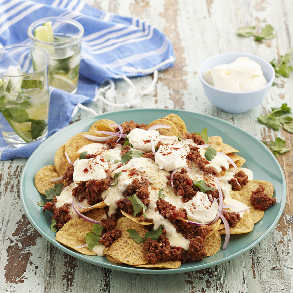 Chilli Cheese Nachos
