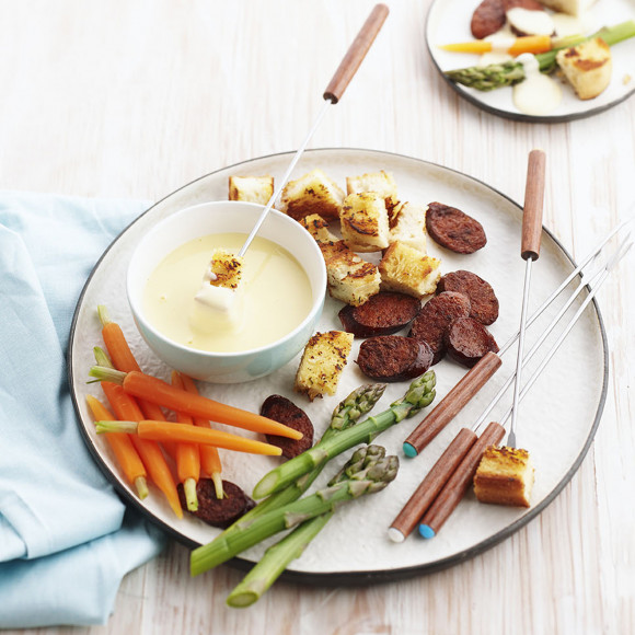 Instant Vintage Cheese Fondue