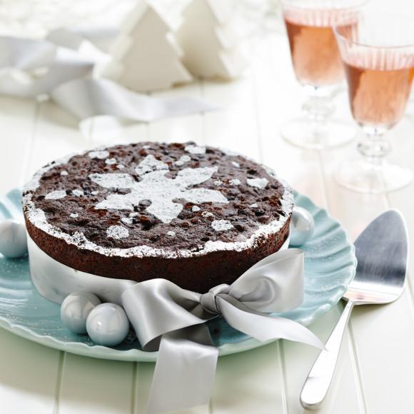 Moist Chocolate Christmas Cake
