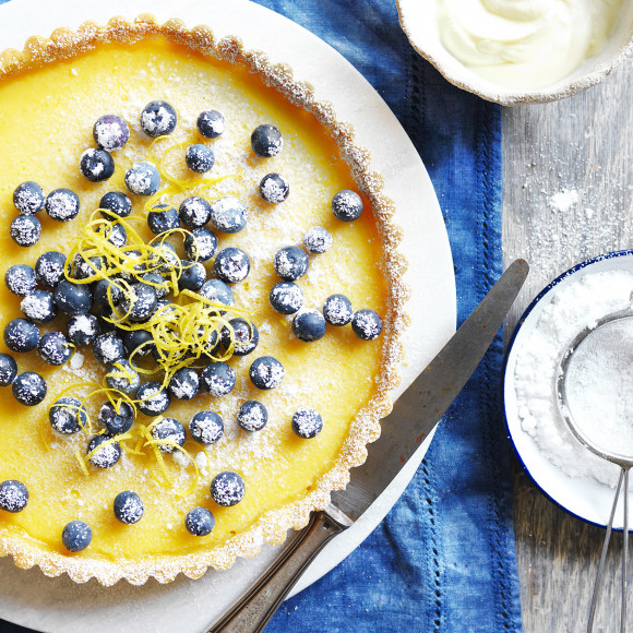 How to make classic Lemon Tart with homemade pastry - Devondale Farmers Cookbook