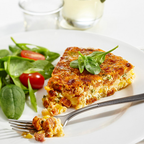 Chorizo and Corn Frittata