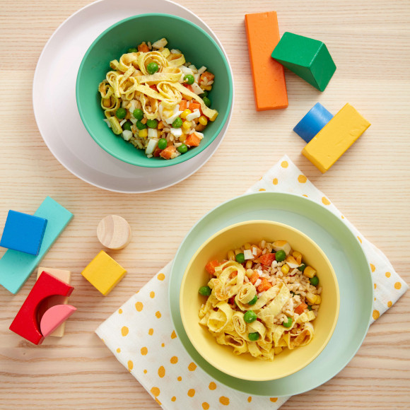 Egg noodles with fried rice toddler recipe