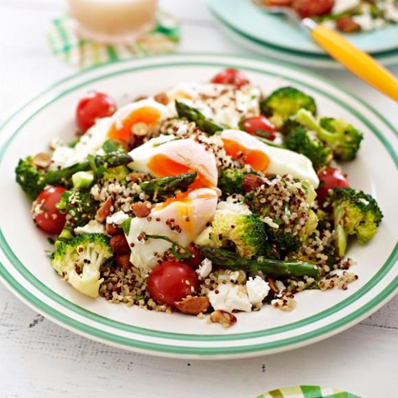 Poached Egg Salad Recipe | myfoodbook