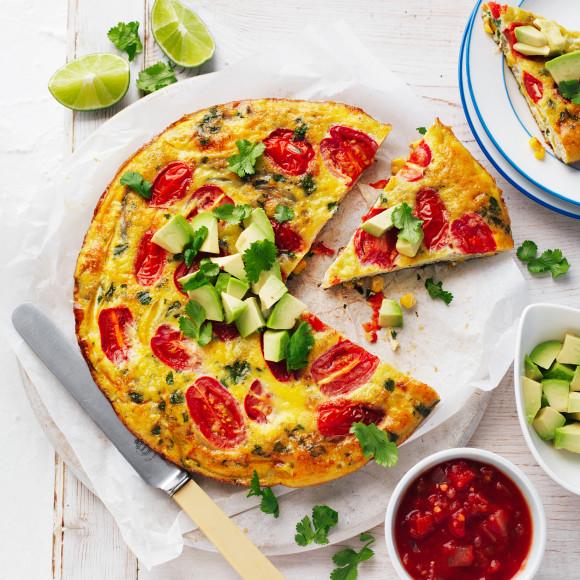 Mexican Pan Frittata recipe