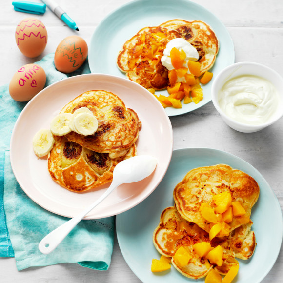 Easy Fruit Pancakes