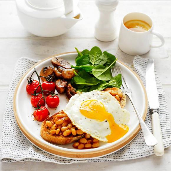 Healthy Egg Vegie Breakfast