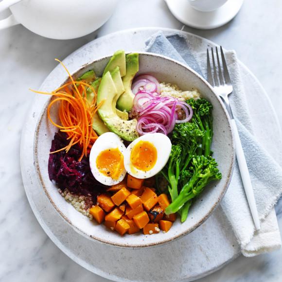 Egg Buddha Bowls