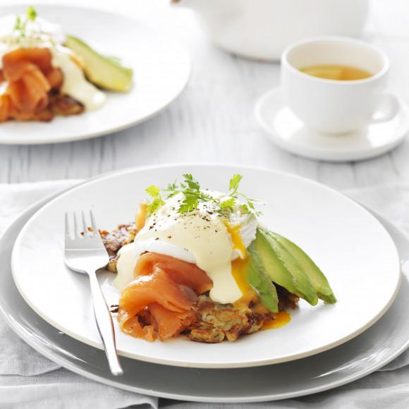 Poached Egg with Smoked Salmon and Avocado