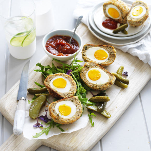 Chicken Scotch Eggs