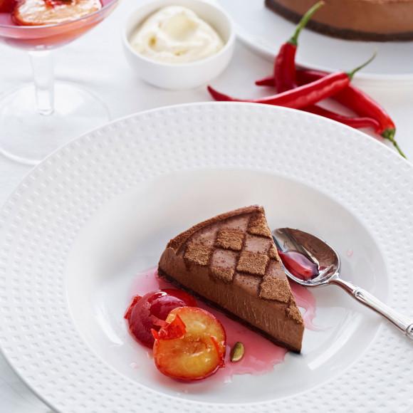 Chocolate Cheesecake Recipe | myfoodbook