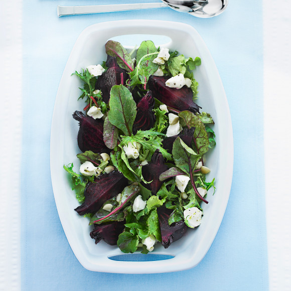 Roasted Beetroot and Macadamia Salad