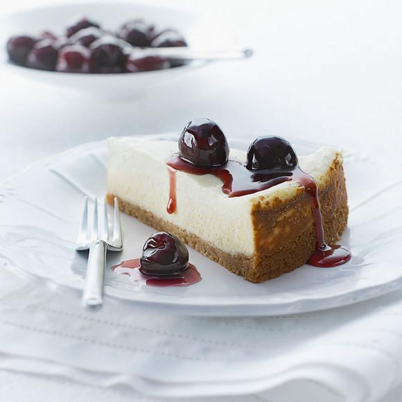 Cherry Yoghurt Cheesecake