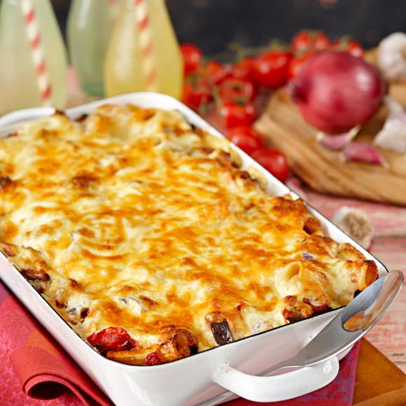 Ratatouille Pasta Bake Recipe Myfoodbook