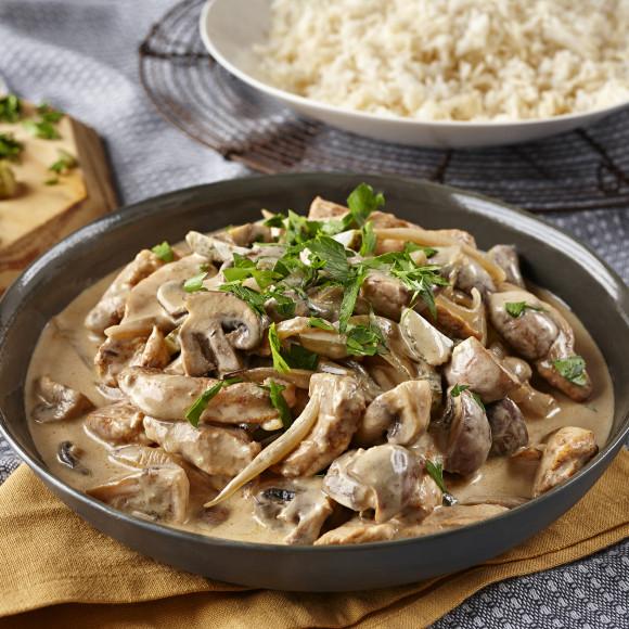 Turkey Stroganoff Recipe | myfoodbook | Stroganoff recipe