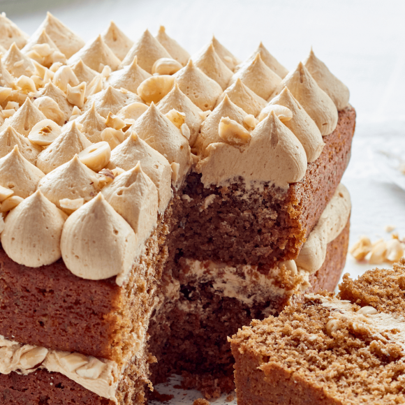 Coffee cream frosting for cake