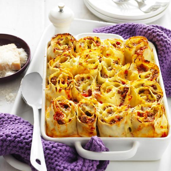 Lasagne Roll Ups