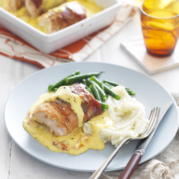 Involtini Chicken Baked with Honey Mustard Sauce
