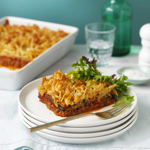 Lamb, Rosemary and Eggplant Pastitsio