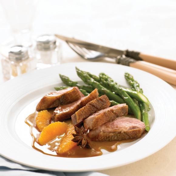 Duck with Spiced Citrus Sauce